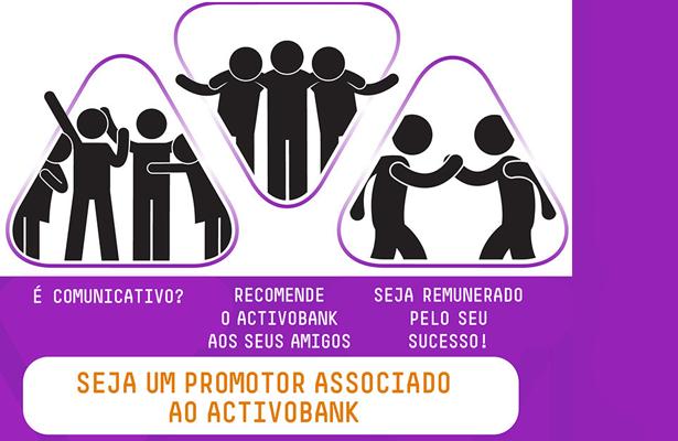 O ActivoBank está a recrutar promotores associados