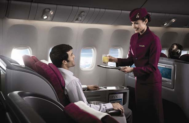 Qatar 777 interior shoot