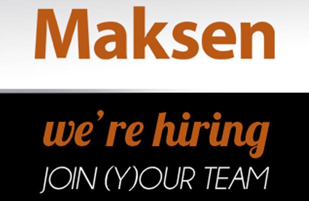 Maksen tem ofertas de emprego na área das Tecnologias de Informação