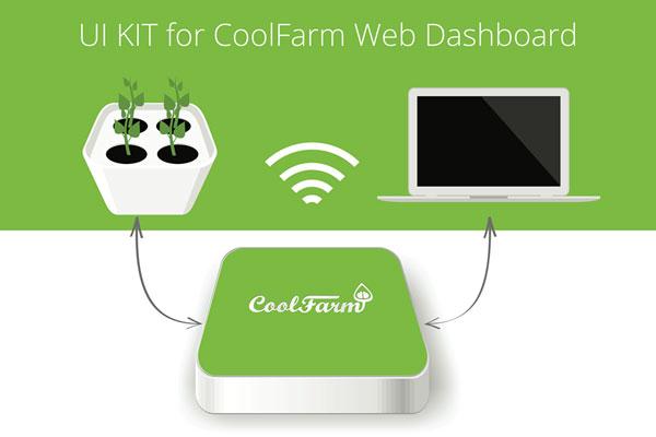 """CoolFarm, agricultura """"high-tech"""" para quem não sabe cuidar de plantas"""