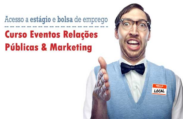 Curso Eventos Relações Públicas & Marketing