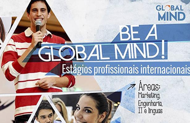 A Global Mind tem estágios Profissionais Internacionais