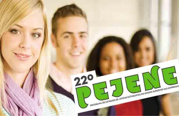 PEJENE com mais de 700 estágios para Jovens Estudantes do Ensino Superior