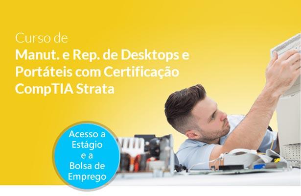 Curso Manutenção e Reparação de Desktops e Portáteis I