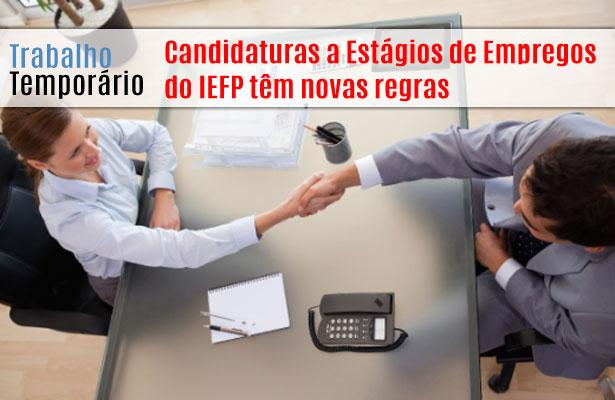 As Candidaturas a Estágios de Empregos do IEFP têm novas regras